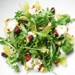 Arugula Chevre Salad