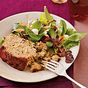 Turkey Meatloaf with Greens