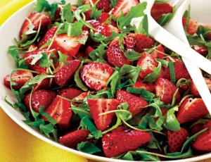 arugula -strawberry-salad